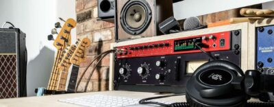 Focusrite Clarett+ 8Pre interfaccia audio usb pro project home studio recording algam eko strumentimusicali