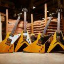 Gibson 1958 Korina Explorer Flying V chitarra elettrica electric guitar vintage reissue modern strumentimusicali
