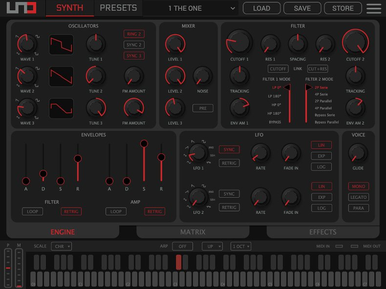 Ik Multimedia UNO Synth Pro Editor synth sintetizzatore software daw pc mac strumentimusicali mogar
