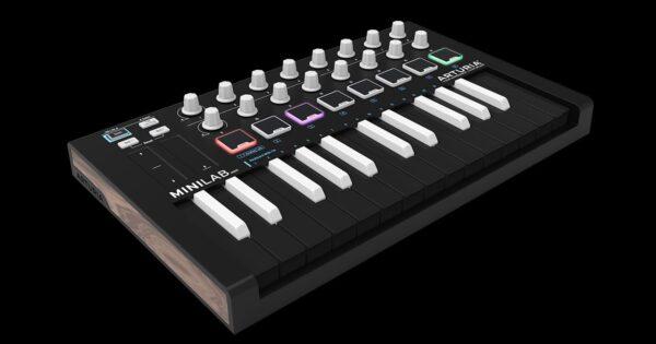 Arturia MiniLab Mk II Inverted controller tastiera keyboard midiware strumentimusicali
