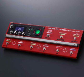 BOSS RC-600 loop station chitarra fx hardware pedaliera guitar stompbox strumentimusicali
