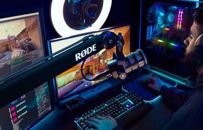 Røde PSA-1+ asta microfono boom studio radio broadcast podcast streamer gaming twitch midi music strumentimusicali