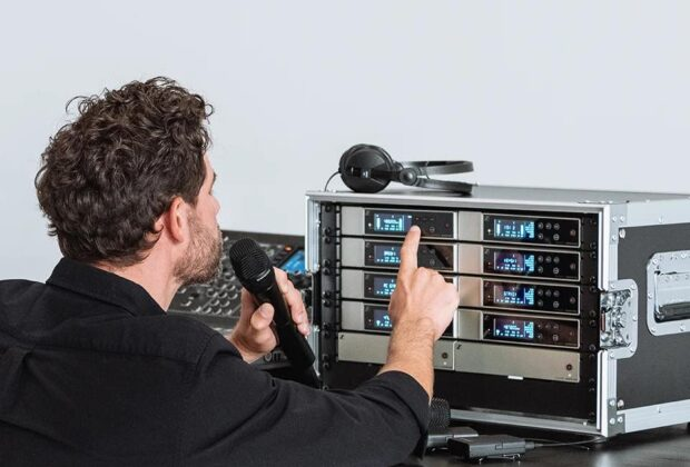 Sennheiser EW-D evolution wireless digital microfoni live radiomicrofoni exhibo strumentimusicali