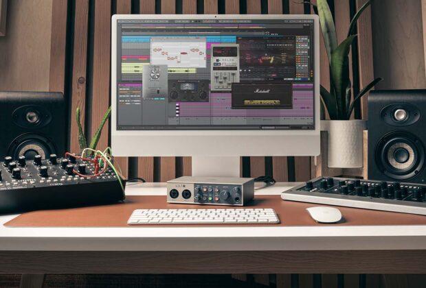 Universal Audio Volt 176 276 476 interfaccia audio mobile iphone ipad pc mac hardware home studio recording midiware strumentimusicali